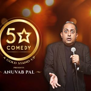 AGP World's new stand up series is aptly called 5 Star Comedy