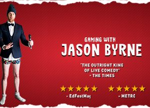 Gaming With Jason Byrne